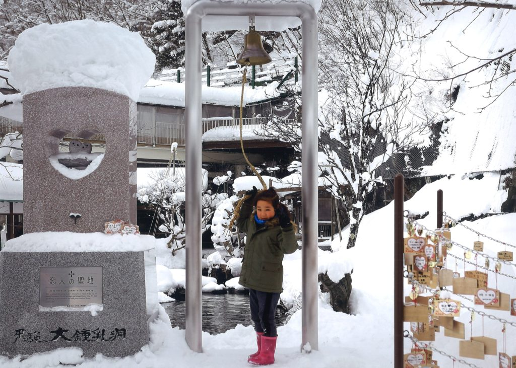 「特別賞」 【幸せを呼ぶ鐘】   直井 隆義  高山市